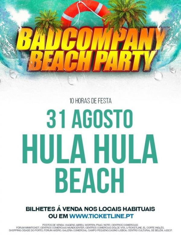 Bad Company Beach Party 2019